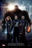 Fantastic Four - British Movie Poster (xs thumbnail)