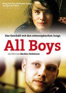Poikien bisnes - German DVD cover (xs thumbnail)