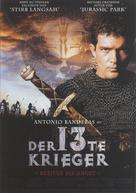 The 13th Warrior - German Movie Poster (xs thumbnail)