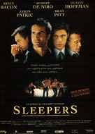 Sleepers - Spanish Movie Poster (xs thumbnail)