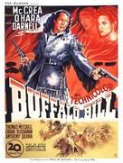 Buffalo Bill - French Movie Poster (xs thumbnail)