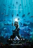 Aquaman - Spanish Movie Poster (xs thumbnail)