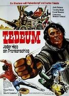 Tedeum - German Movie Poster (xs thumbnail)