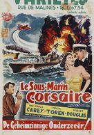 Mystery Submarine - Belgian Movie Poster (xs thumbnail)