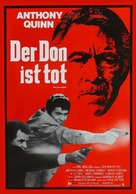 The Don Is Dead - German Movie Poster (xs thumbnail)
