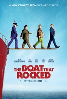 The Boat That Rocked - British Movie Poster (xs thumbnail)