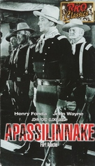 Fort Apache - Finnish VHS cover (xs thumbnail)