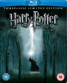 Harry Potter and the Deathly Hallows: Part I - British Blu-Ray cover (xs thumbnail)