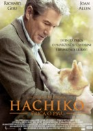 Hachiko: A Dog's Story - Croatian Movie Poster (xs thumbnail)