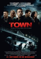 The Town - Dutch Movie Poster (xs thumbnail)