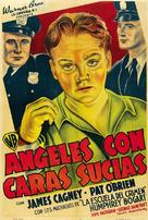 Angels with Dirty Faces - Argentinian Movie Poster (xs thumbnail)