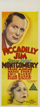 Piccadilly Jim - Australian Movie Poster (xs thumbnail)