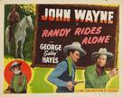 Randy Rides Alone - Movie Poster (xs thumbnail)