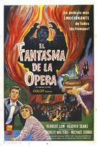 The Phantom of the Opera - Spanish Movie Poster (xs thumbnail)