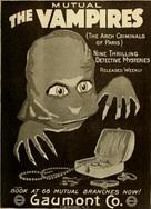 Les vampires - Movie Poster (xs thumbnail)