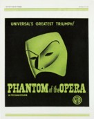 Phantom of the Opera - British Movie Poster (xs thumbnail)