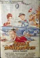 Pigen og millionæren - Danish Movie Poster (xs thumbnail)