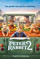 Peter Rabbit 2: The Runaway - Dutch Movie Poster (xs thumbnail)