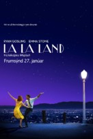 La La Land - Icelandic Movie Poster (xs thumbnail)
