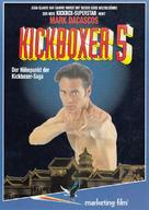 Kickboxer 5 - German Movie Poster (xs thumbnail)