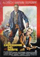 Emperor of the North Pole - Spanish Movie Poster (xs thumbnail)