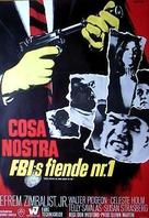 Cosa Nostra, Arch Enemy of the FBI - Swedish Movie Poster (xs thumbnail)