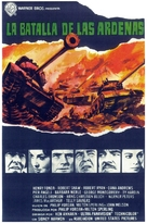 Battle of the Bulge - Spanish Movie Poster (xs thumbnail)