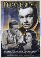 Scarlet Street - Spanish DVD cover (xs thumbnail)