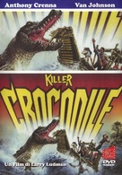 Killer Crocodile - Italian DVD cover (xs thumbnail)