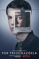 """Thirteen Reasons Why"" - Portuguese Movie Poster (xs thumbnail)"