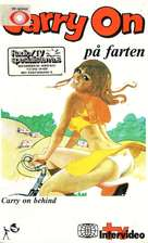 Carry on Behind - Norwegian VHS cover (xs thumbnail)