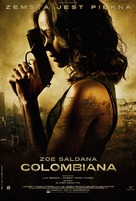 Colombiana - Polish Movie Poster (xs thumbnail)