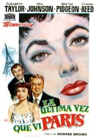 The Last Time I Saw Paris - Spanish Movie Poster (xs thumbnail)