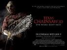Texas Chainsaw Massacre 3D - British Movie Poster (xs thumbnail)
