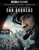 San Andreas - Blu-Ray cover (xs thumbnail)