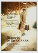 A Soldier's Story - Spanish Movie Poster (xs thumbnail)