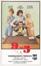 Nine to Five - Finnish VHS movie cover (xs thumbnail)