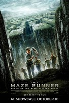 The Maze Runner - British Movie Poster (xs thumbnail)