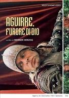 Aguirre, der Zorn Gottes - Italian DVD cover (xs thumbnail)