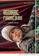 Aguirre, der Zorn Gottes - Italian DVD movie cover (xs thumbnail)