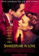 Shakespeare In Love - German Advance movie poster (xs thumbnail)
