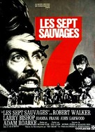 The Savage Seven - French Movie Poster (xs thumbnail)