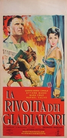 La rivolta dei gladiatori - Italian Movie Poster (xs thumbnail)