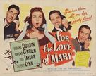 For the Love of Mary - Movie Poster (xs thumbnail)