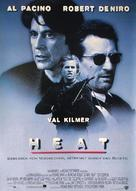 Heat - German Movie Poster (xs thumbnail)
