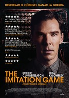 The Imitation Game - Spanish Movie Poster (xs thumbnail)