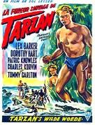 Tarzan's Savage Fury - Belgian Movie Poster (xs thumbnail)