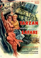 Tarzan and the Lost Safari - German Movie Poster (xs thumbnail)