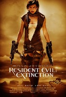 Resident Evil: Extinction - Theatrical movie poster (xs thumbnail)