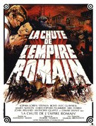 The Fall of the Roman Empire - French Movie Poster (xs thumbnail)